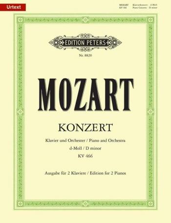 Concerto: D Minor:  Kv466: Piano (Peters)