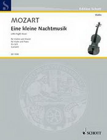 Eine Kleine Nachtmusik: K525: Violin and Piano