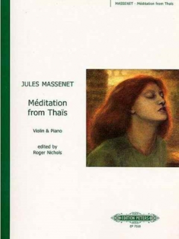 Meditation From Thais: Violin and Piano (Peters)