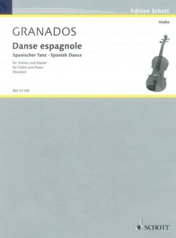 Spanish Dance: Violin and Piano