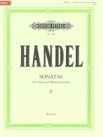 Sonatas: Vol 2: Complete: Violin and Piano: Basso Continuo (Peters)