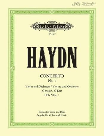 Violin Concerto C Major: Violin & Piano (Peters)