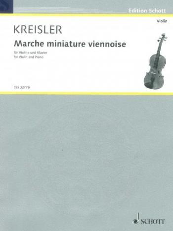 Marche Miniature Viennoise: Violin and Piano