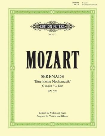 Eine Kleine Nachtmusik: K525: Violin and Piano (Peters)