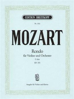 Rondo: C Major: Kv373: Violin and Piano (Breitkopf)