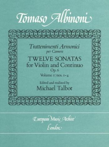 12 Sonatas: Op6 Vol 1: Violin