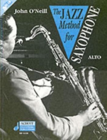 Jazz Method For Alto Saxophone: Tutor Book & Cd