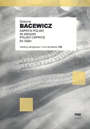 Polish Caprice: Violin Solo (PWM)