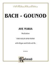 Ave Maria: Violin & Piano (Kalmus)