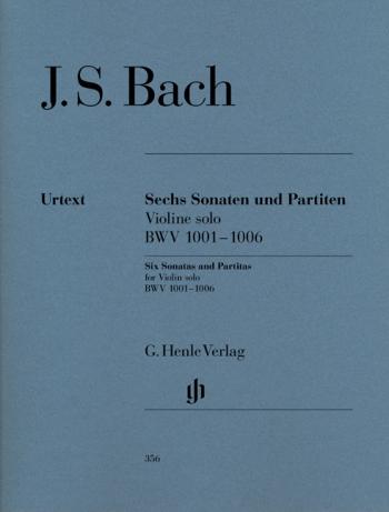 6 Sonatas And Partitas Bwv1001-1006: Violin Solo (Henle)