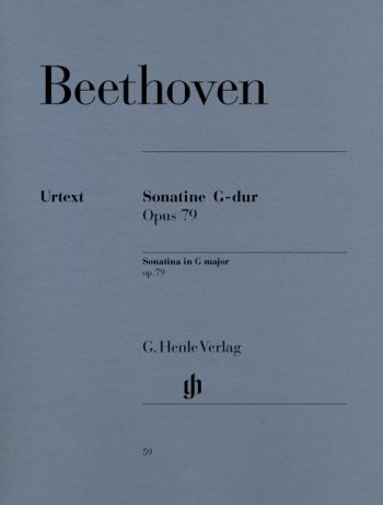 Piano Sonatinas G Major Op.79 Piano (Henle)