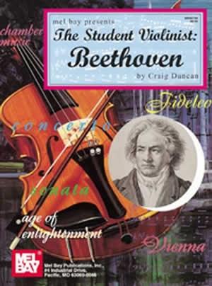 Student Violinist The : Beethoven: Violin & Piano