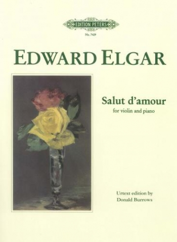 Salut Damour: Op 12: Violin and Piano (Peters)