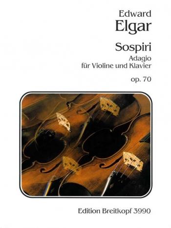 Sospiri: Op70: Violin and Piano (Breitkopf)