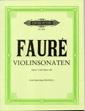 2 Sonatas: Op13 and Op108: Violin and Piano (Peters)