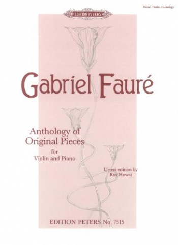 Anthology Of Original Pieces: Violin and Piano (Peters)