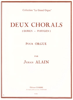 2 Chorals: Dorien - Phrygien For Organ (Lemoine)