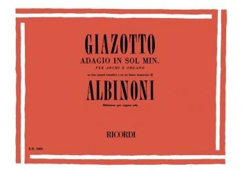 Adagio In G Minor: Organ Solo (Ricordi)
