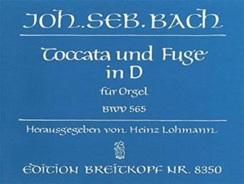 Toccata Und Fugue In D Minor: Organ  (Breitkopf)