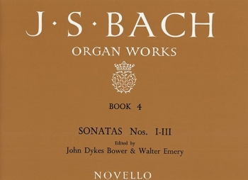 Organ Works Book 4: Sonatas 1-3 (Novello)