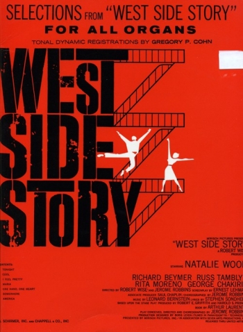 Selections From West Side Story: Organ