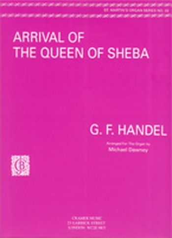 Arrival Of The Queen Of Sheba Organ  (Cramer)