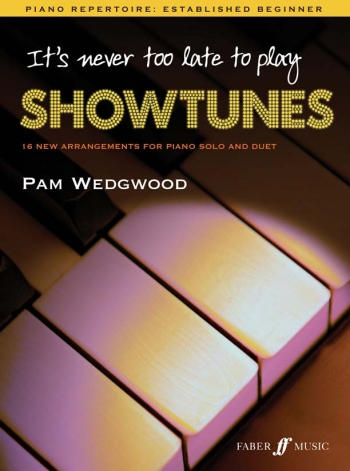 Its Never Too Late To Play Showtunes: Piano (wedgwood)