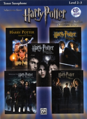 Selections From Harry Potter: Tenor Saxophone: Movies 1-5