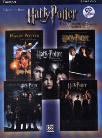 Selections From Harry Potter: Trumpet: Movies 1-5