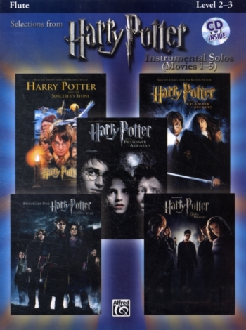 Selections From Harry Potter: Flute: Book & CD