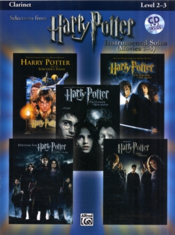 Selections From Harry Potter Movies 1-5: Clarinet: Book & CD