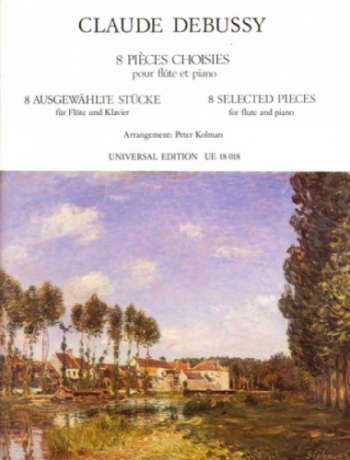8 Selected Pieces: Flute & Piano (Universal)
