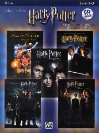 Selections From Harry Potter: Movies 1-5: French Horn: Book & CD