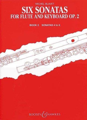 Flute Sonatas (6) Vol.2 (4-6): Flute & Piano (B&H)