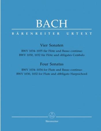 4 Sonatas: Bwv1032-5: Flute & PIano (Barenreiter)