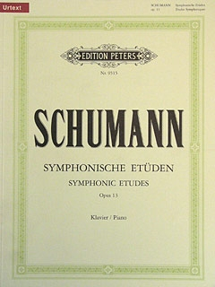 Symphonic Studies: Piano (Peters)