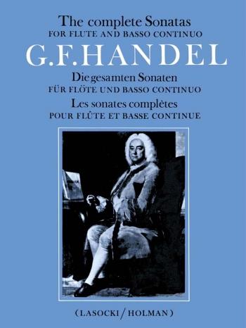 Complete Flute Sonatas: Flute & Piano (Archive Copy) (Faber)