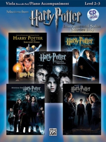 Selections From Harry Potter: Viola and Piano: Instrumental Solos