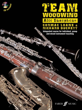 Team Woodwind: Saxophone: Eb Alto: Bk&cd