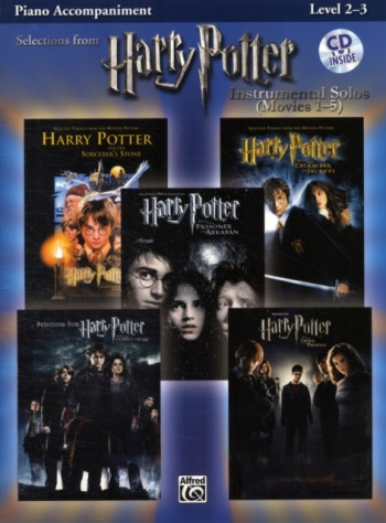 Selections From Harry Potter: Piano Accompaniment : Instrumental Solos