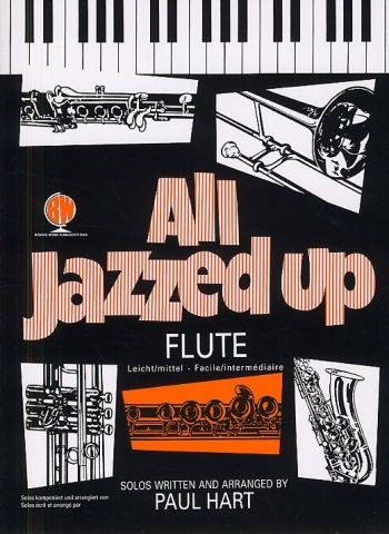 All Jazzed Up: Flute & Piano Book Only (Hart)(Brasswind)