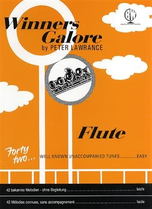 Winners Galore: Flute Book Only  (Lawrance)