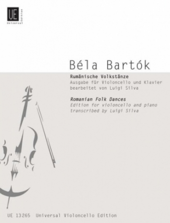 Rumanian Folk Dances: Cello & Piano (Universal)