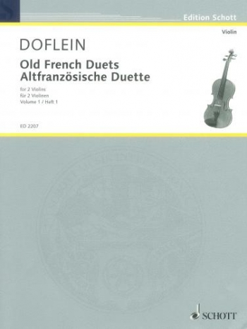 Old French Duets Vol 1: Violin Duet (Doflein)