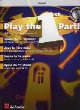 Play The 1st Part: Clarinet: Book & CD