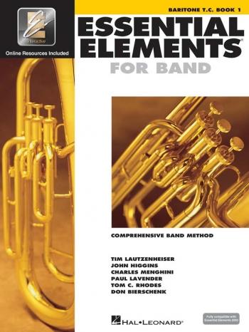 Essential Elements 2000: Book 1: Baritone: Treble Clef: Book & Cd