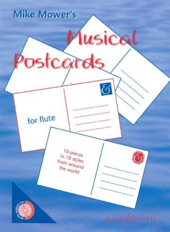 Musical Postcards: Flute: Book & CD