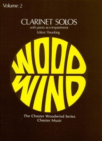 Clarinet Solos Vol.2: Clarinet & Piano (king) (Chester)