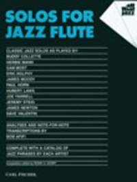 Solos For Jazz Flute Solo