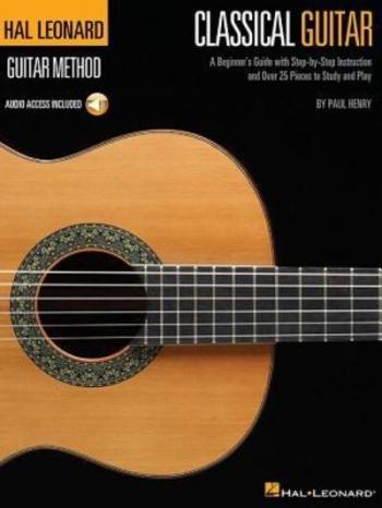 Hal Leonard Classic Guitar Method Book: Guitar: Tutor: Bk&cd